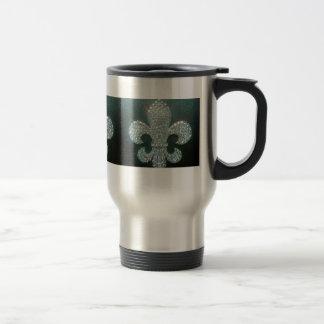 Fleur de lis bling on mug