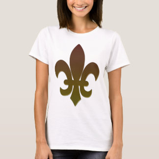 fleur de lis - brass T-Shirt