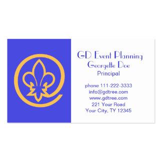Fleur-de-lis Business Card Templates