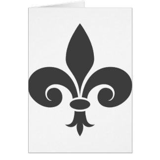 Fleur-De-Lis Card