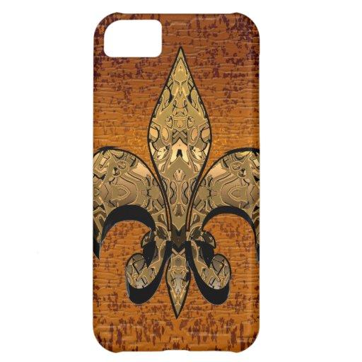 Fleur-de-Lis Cover For iPhone 5C