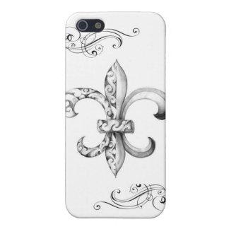 Fleur De Lis Case For iPhone 5/5S