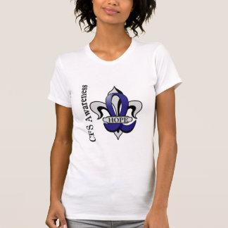Fleur De Lis CFS Hope Tshirts