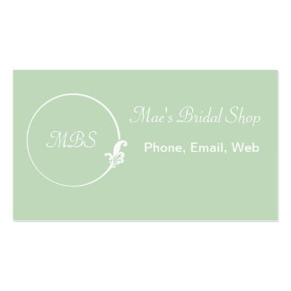 Fleur-de-Lis Circle Pack Of Standard Business Cards