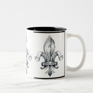 Fleur De Lis Coffee Mug Customized