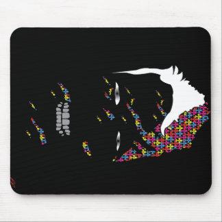 Fleur De Lis - Colour Within Mouse Pads