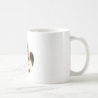 Fleur de Lis, customizable text Basic White Mug