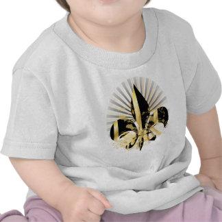 Fleur de Lis, customizable text Shirt