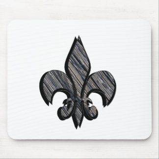 Fleur-de-lis customize it mouse pad
