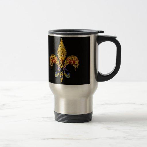 Fleur-de-lis customize it coffee mug