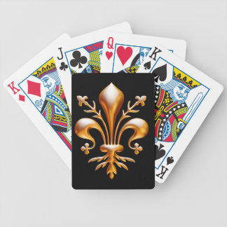 Fleur de Lis (de Lys) Bicycle Playing Cards