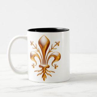 Fleur de Lis (de Lys) Coffee Mug