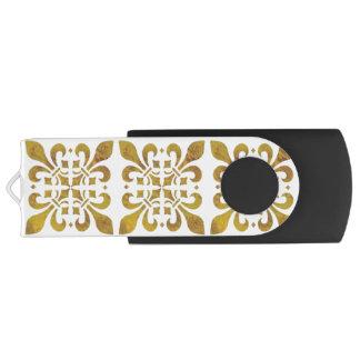 Fleur De Lis Design Customizable USB Flash Drive