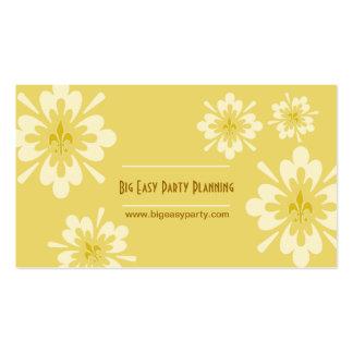 Fleur de Lis Flower Double-Sided Standard Business Cards (Pack Of 100)