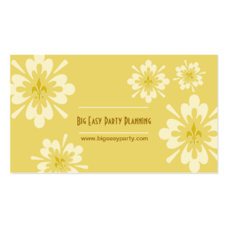 Fleur de Lis Flower Pack Of Standard Business Cards