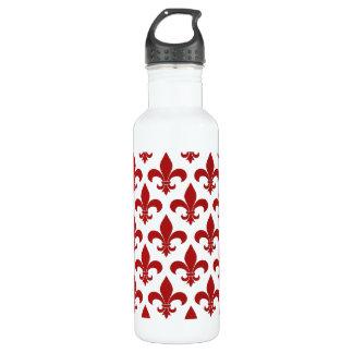 Fleur de lis French Pattern Parisian Design 710 Ml Water Bottle