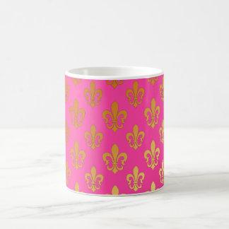 Fleur de Lis/gold/DIYbackground Mug
