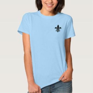 fleur de lis - gothic t-shirt