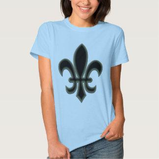fleur de lis - gothic tee shirt