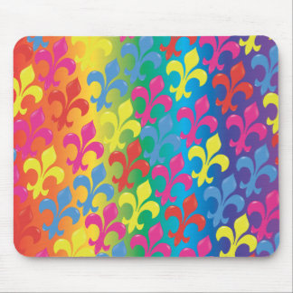 Fleur De Lis in Full Mouse Pad