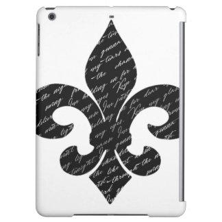 Fleur De Lis iPad Air Cover
