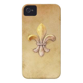 Fleur_de_lis iPhone 4 Case-Mate Case