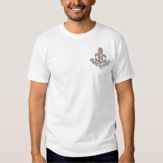 Fleur De Lis-jewelled T-shirt