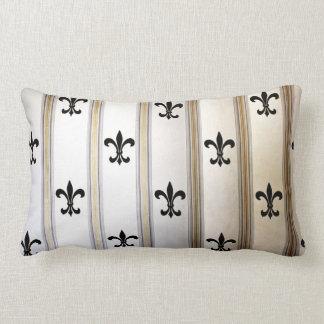 Fleur-de-Lis Lumbar Cushion