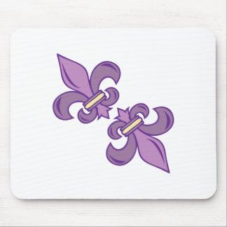 Fleur De Lis Mouse Pad