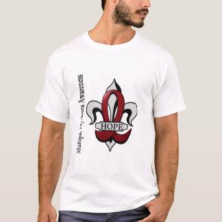 Fleur De Lis Multiple Myeloma Hope T-Shirt