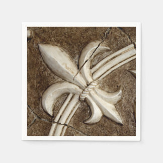 Fleur de Lis Napkin Paper Napkin