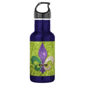 Fleur De Lis  New Orleans Jewel Sparkle 532 Ml Water Bottle