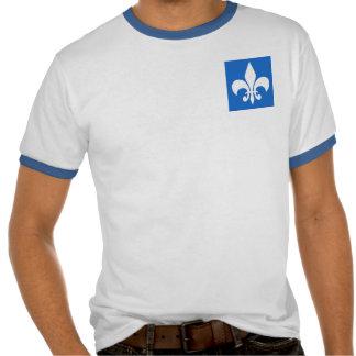 Fleur-de-lis on Blue Tshirt