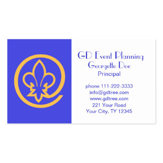 Fleur-de-lis Pack Of Standard Business Cards