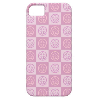 Fleur-de-lis Pattern Barely There iPhone 5 Case