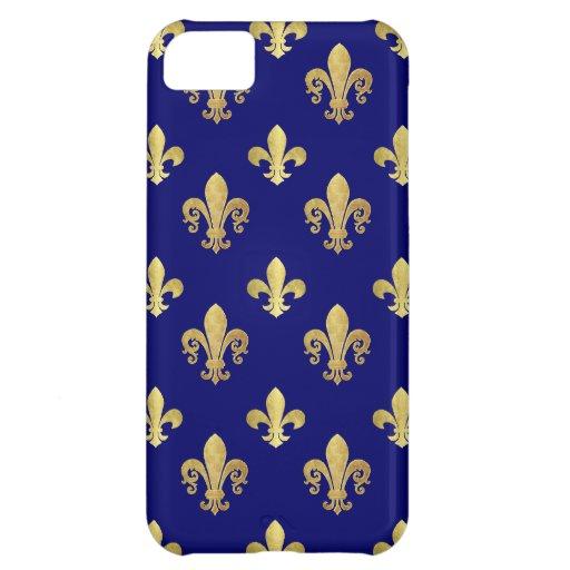 Fleur de lis pattern iPhone 5C covers