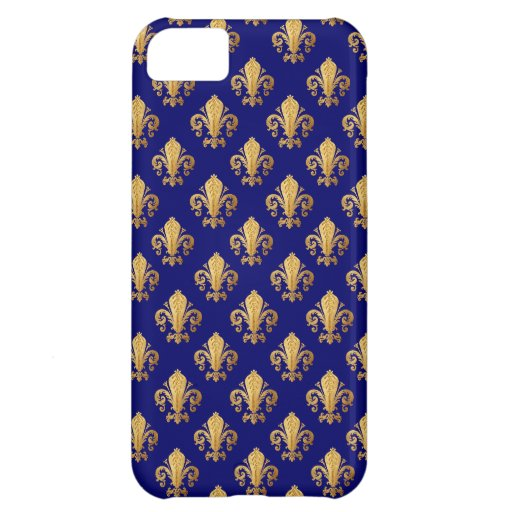 Fleur de lis pattern case for iPhone 5C