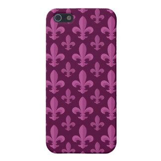 Fleur de lis pattern case for the iPhone 5