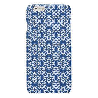 Fleur De Lis Pattern in Blue and White
