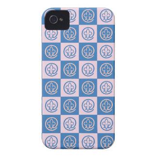 Fleur-de-lis Pattern iPhone 4 Case-Mate Case