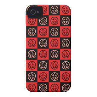 Fleur-de-lis Pattern iPhone 4 Cover