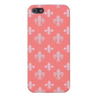 Fleur de lis pattern iPhone 5/5S covers