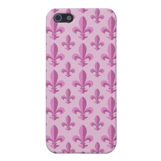 Fleur de lis pattern iPhone 5 cases