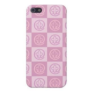 Fleur-de-lis Pattern iPhone 5 Cover