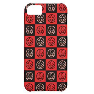 Fleur-de-lis Pattern iPhone 5C Case