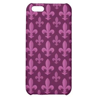 Fleur de lis pattern cover for iPhone 5C