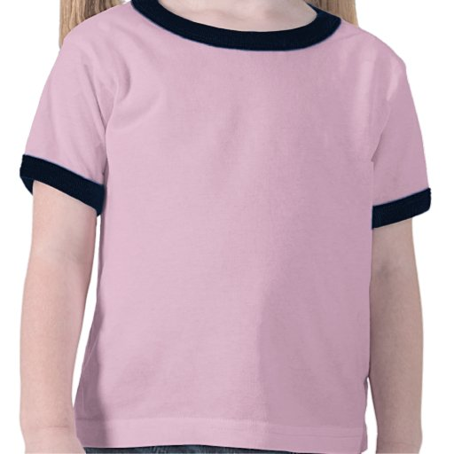 Fleur de lis Pink Gingham toddler t-shirt
