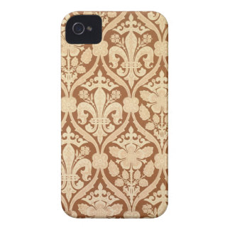 'Fleur-de-Lis', reproduction wallpaper designed by Case-Mate iPhone 4 Case