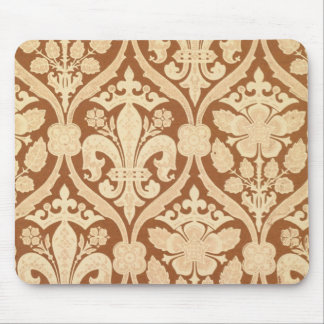 'Fleur-de-Lis', reproduction wallpaper designed by Mouse Pad