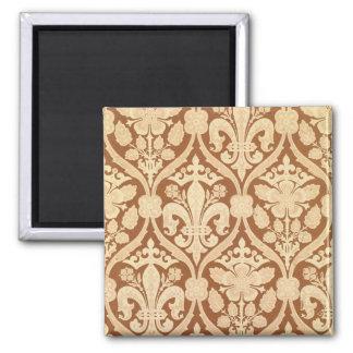 'Fleur-de-Lis', reproduction wallpaper designed by Square Magnet